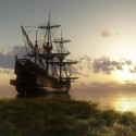 Ships_Ancient_ship_near_the_shore_089084_